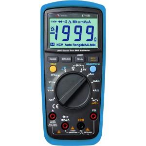 Multímetro Digital CATIII 3 1/2 Dig./ TRUE RMS /Teste Tensão sem contato (Garantia estendida de 3 anos) ET-1639A
